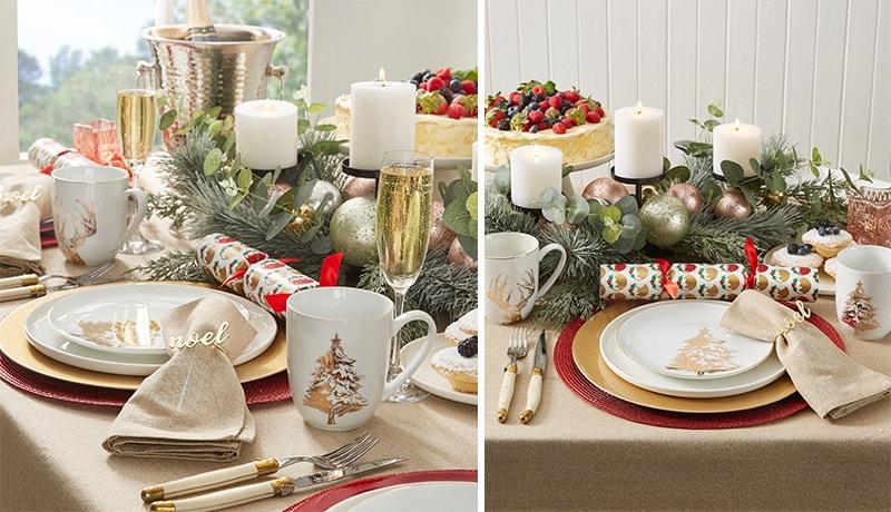 A Traditional Christmas Table Image 02