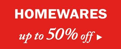 Homeswares Sale