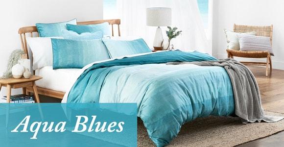 Aqua Blues Lookbook