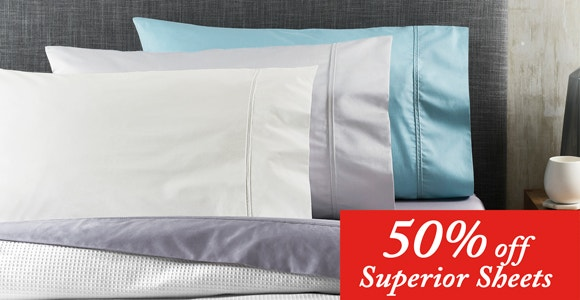 Sheets 50% off