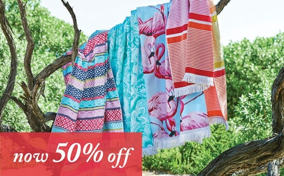 Beach Towels Now 50% off