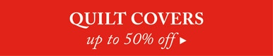 50% off Quilt Covers