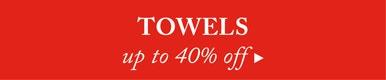 60% off Towels