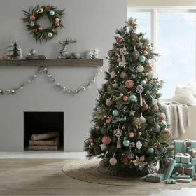 Christmas Trees & Tree Decorations