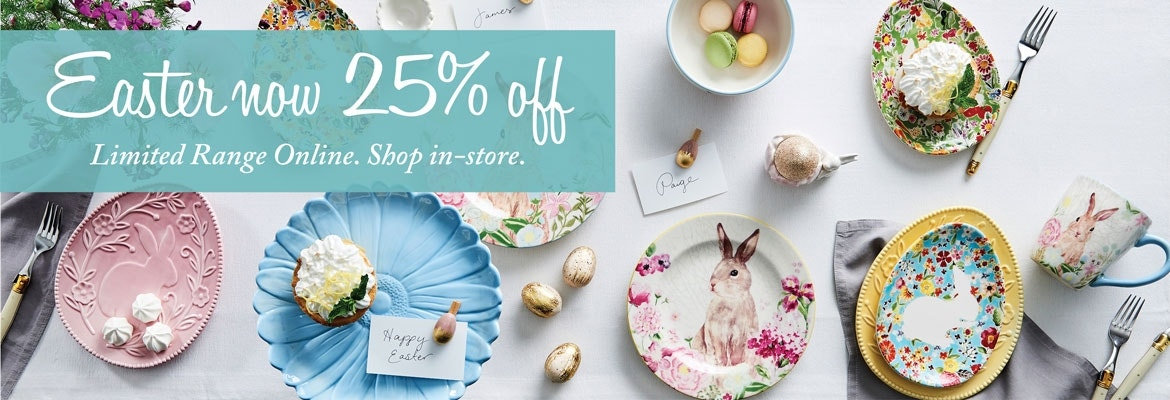 Easter decorations easter gifts online bed bath n table easter banner negle Gallery