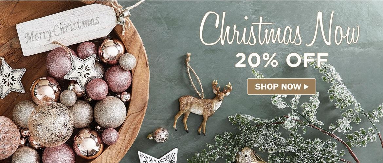 Christmas 20% off