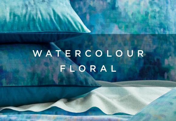 watercolour floral lookbook