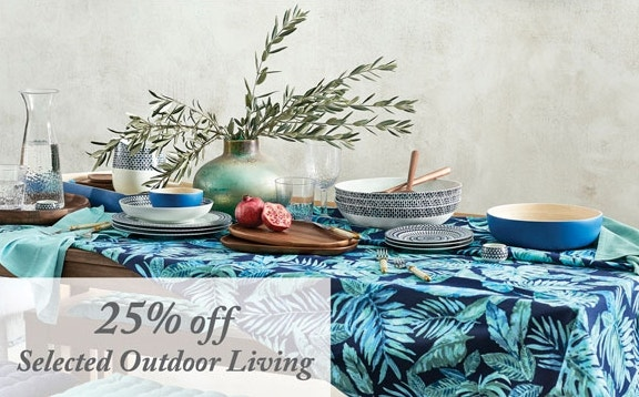 25% off Outdoor Living