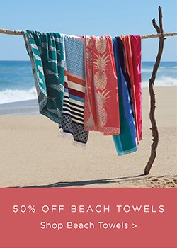 Beach Towels 50% Off