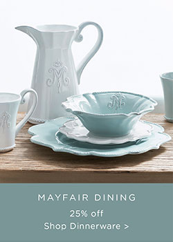 Dinnerware Sale